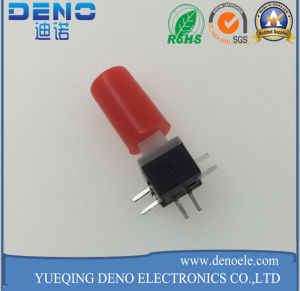 Red Cover Self Locking Switch Manufacturer Push Switch pictures & photos