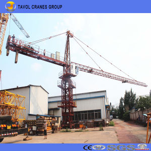 China Tavol Qtz250 7030 Ce ISO with 16t 70m Boom Topkit Crane Tower pictures & photos