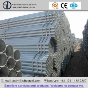 ASTM A36, Hot DIP Galvanized Round Steel Pipe pictures & photos