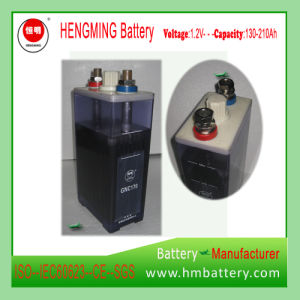 Pocket Type Ni-CD Industrial Battery Gnc170 for Engine Starting pictures & photos