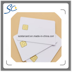 Blank PVC Sle4428 Contact IC Smart Card pictures & photos