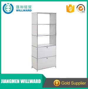 Hot Sale High Quality Steel Simple Filing Cabinet with 2 Drawers pictures & photos