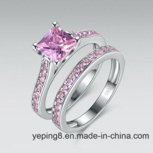 Princess Cut Pink Diamond Ring Set - 45 pictures & photos