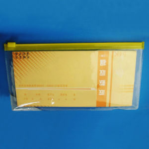 OEM Custom Clear PVC Zip Stationery Bag pictures & photos