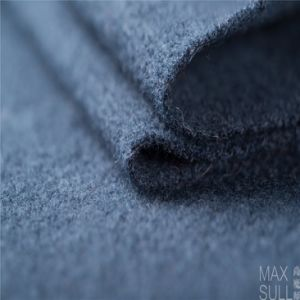 Wool/Cotton Dark Blue Fabric pictures & photos