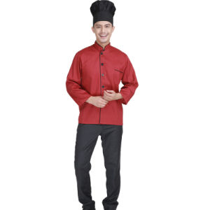 Newest 100% Cotton Hotel and Restaurant Chef Uniform pictures & photos