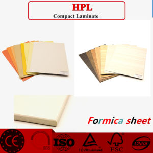 Cheap Price High-Pressure Decorative Laminates Sheet /HPL pictures & photos