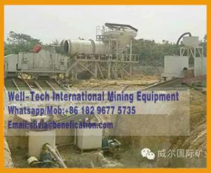 Gt1225 Placer Gold Washing Plant pictures & photos