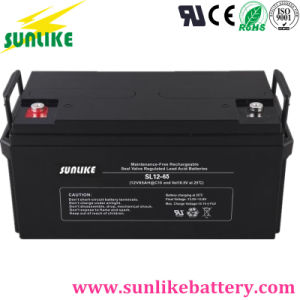 Deep Cycle 12V65ah Sealed Lead-Acid UPS Battery for Solar Power pictures & photos