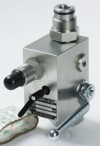 Hydraulic High Pressure Carbon Steel Safety Shut off Control Valve pictures & photos