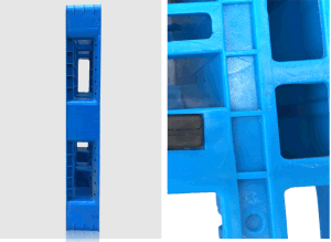 Warehouse Products 1100*1100*150mm HDPE Plastic Tray Grid Faced Static 4t Heavy Duty Plastic Pallet for Storage (ZG-1111B) pictures & photos