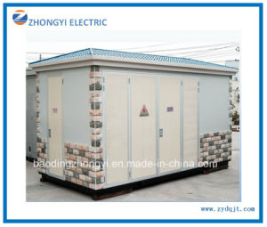 Power Distribution Oil Type Three Phase Step Down 500kVA Transformer Substation pictures & photos
