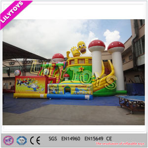 Outdoor Kids Inflatable Funcity Playground Giant Inflatable Amusement Park