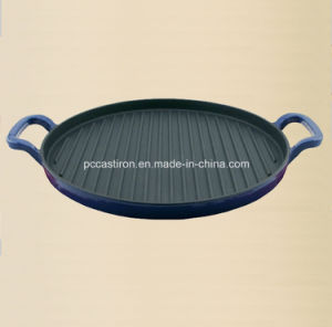 Round Cast Iron Griddle From China pictures & photos