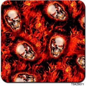 Kingtop 0.5m Wide Skull Design Cartoon Hydro Dipping PVA Water Transfer Printing Hydrographic Film pictures & photos