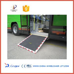 Hot Sale Electric Aluminium Wheelchair Ramp for Low Floor Bus pictures & photos