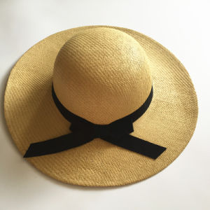 Personalized Promotion Big Brimmed Women Summer Beach Hat (HW08) pictures & photos