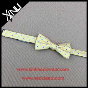 Perfect Knot Wholesale Silk Woven Bowtie for Men pictures & photos