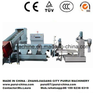 PE Washed Shreds Recycling Pelletizing Machine pictures & photos