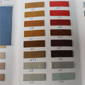 1.35mm Soft Litchi Grain PU Leather for Handbags (K677) pictures & photos