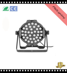 Nightclub / Theater Stage LED PAR Cans Lighting with 36PCS 3W 6-in-1 LEDs