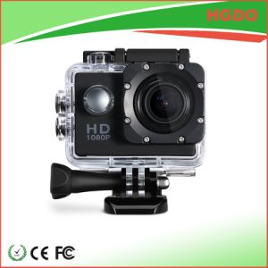 Black Color Mini Waterproof Sport Camera Full HD 1080P pictures & photos