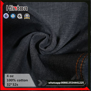 Fashion Jeans Garment Cotton Fabric 4oz 32*32s Denim Fabric pictures & photos