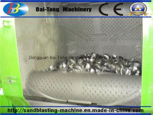 Tumblast Rubber Belt Type Shot Blast Machine for Batch Production pictures & photos