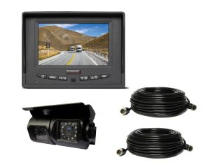 """5"""" Car Camera Kit with Dual Lens CCD Rear View Camera for Caravan & Motorhome pictures & photos"""
