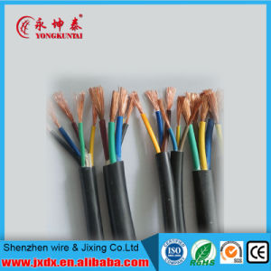 PVC Insulation&Sheath Electric/Electrical Copper Flexible Wire Cable pictures & photos