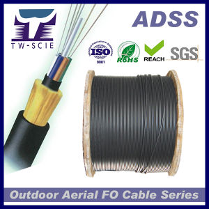 48 Core Non-Metallic Kevlar Yarn Optic Fiber Cable ADSS pictures & photos