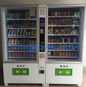 Combo Beverage/Drink/Snack/Pringles Vending Machine pictures & photos