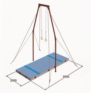 Gymnastics Mats Flying Ring Landing Mat System pictures & photos
