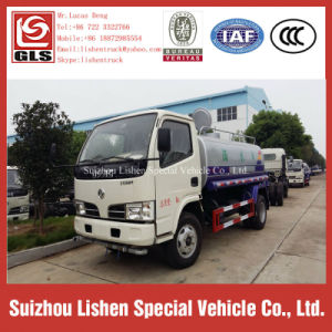 Small Water Truck Dongfeng 4000 Liter Water Tank Truck pictures & photos
