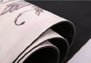Printed 5mm Thick Yoga Mat with Non Slip Rosin Beautiful Printing pictures & photos