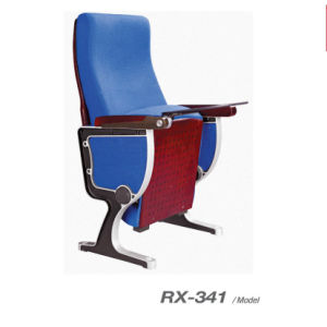 Wooden Back & Seat Cover Auditorium Chair (RX-341) pictures & photos