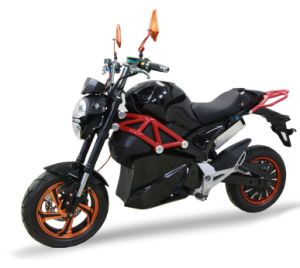 China Sport E-Motorcycle with 85km/H Speed 90km Range pictures & photos