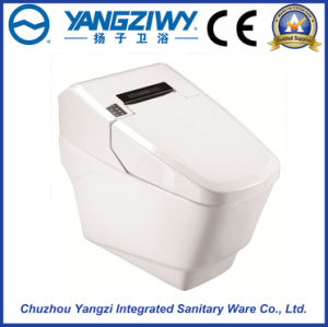 Automatic Bathroom Smart Ceramic Intelligent One Piece Toilet (YZ-98A)