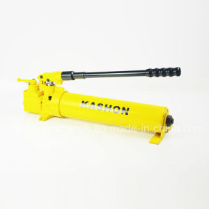Two Speed Double Atcing Hydraulic Hand Manual Pump pictures & photos
