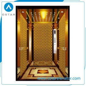 Mirror Etching Machine Roomless Lift Passenger Elevator with Factory Price pictures & photos