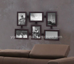 LED Plastic Multi Openning Decoration Collage Photo Frame pictures & photos