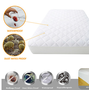 Fully Encased Waterproof Anti-Bed Bug Mattress Protector pictures & photos