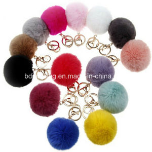 Fashionable Fur Ball POM for Bag pictures & photos