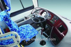 Left Hand Drive Passenger Bus 31-50 Seats, Diesel Bus Slk6112A pictures & photos