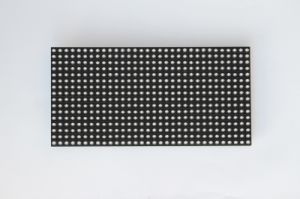 P7.62 Yellow Color Semi-Outdoor LED Module for Bus pictures & photos
