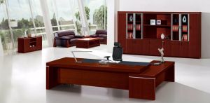 Modern MFC Laminated MDF Wooden Office Table (NS-NW213) pictures & photos