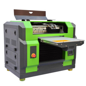 A3 Size UV Flatbed Printer for Phone Case/Mug/Pen/Metal/Glass/USB/CD/Card Printing pictures & photos