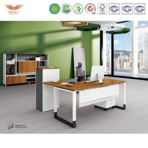 Modern Office Furniture Wooden Office Desk (H90-0401)