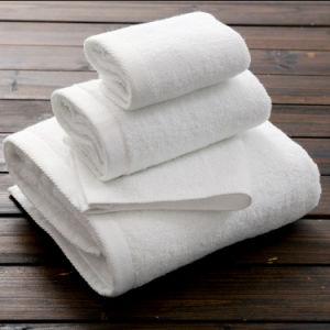 Towel Factory Wholesale Face Hand Bath Plain Hotel Towel 21s pictures & photos