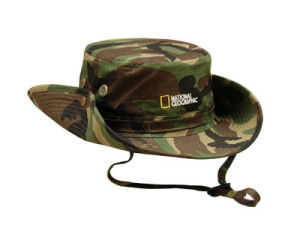 Safari Hat Bucket Hat Fisherman Hat Hunter Hat Safari Hat with Cord Stopper Ribbon pictures & photos
